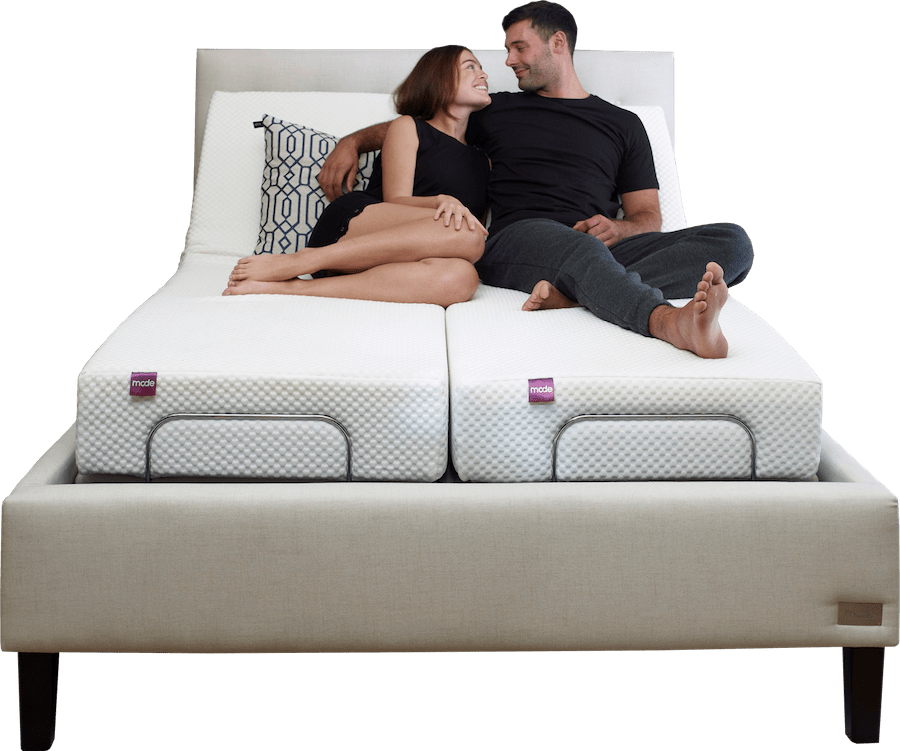 Mode bed compatible with mattresses