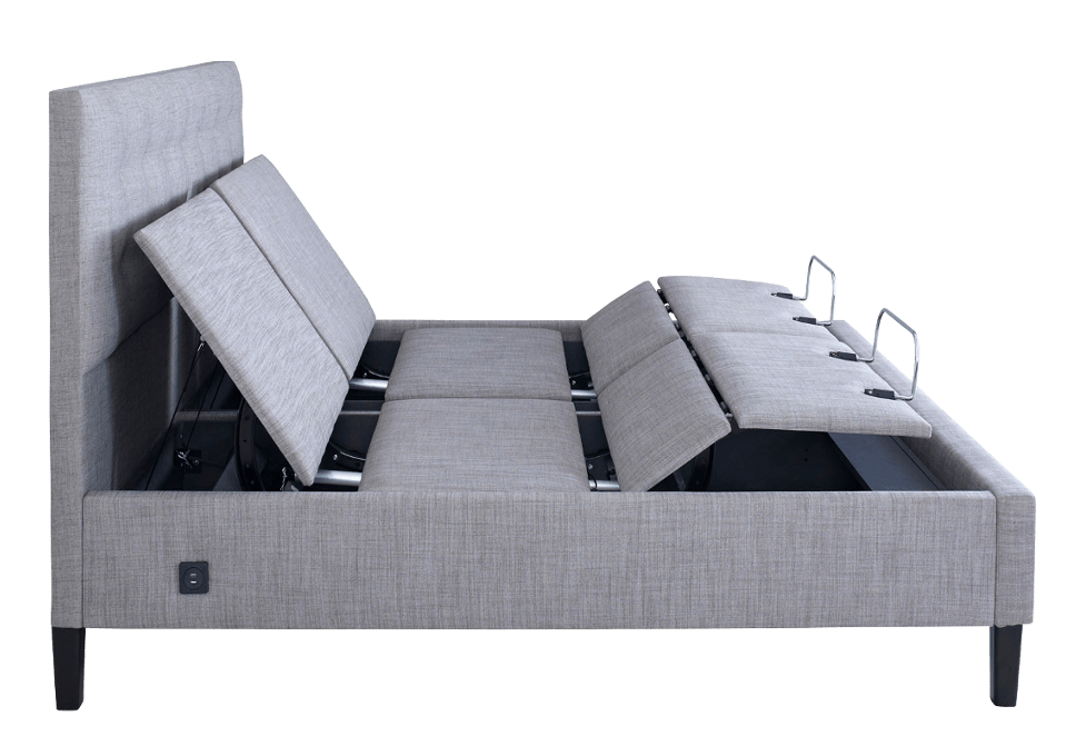 Mode smart bed super king stone side adjusted
